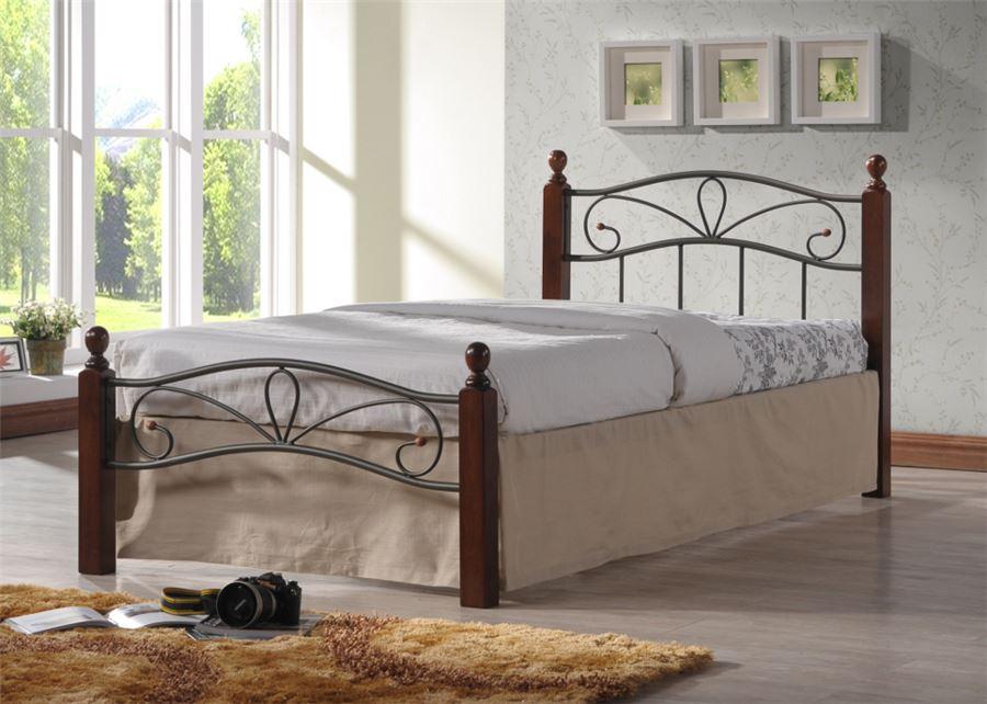 Кровать Глэдис-М (90х200) (Черный)