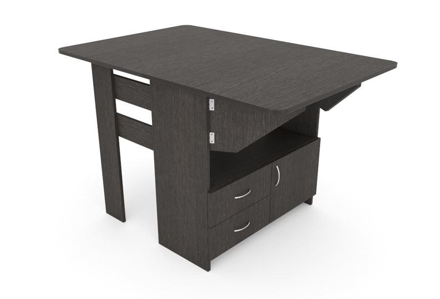 Стол-Тумба 2 ящика (Венге)