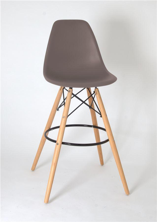 Барный стул РР-638-G/Н75 Eames  (Grey 23 )
