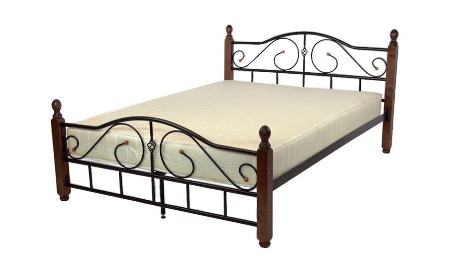 Кровать Адель-М (140х200 / Черный)